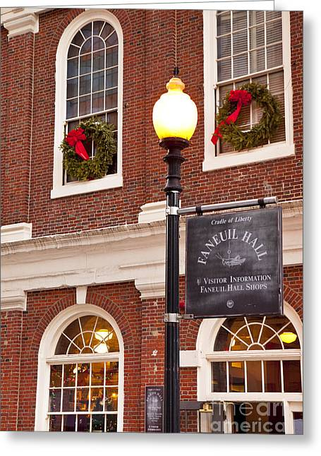 Faneuil Greeting Cards - Faneuil Hall Greeting Card by Brian Jannsen