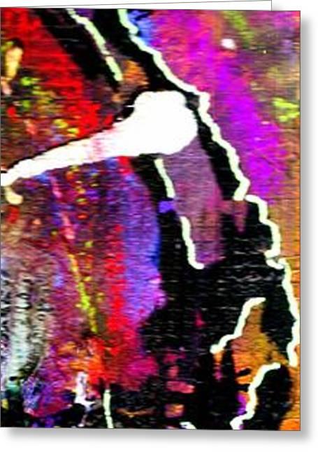 Survivor Art Greeting Cards - Fantasy Land Greeting Card by Angela L Walker