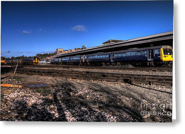 Exeter Greeting Cards - Farewell to the 142s  Greeting Card by Rob Hawkins