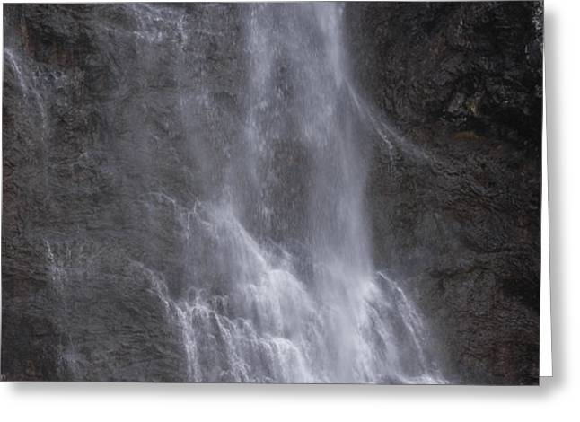 Farie Falls Greeting Card by Charles Warren