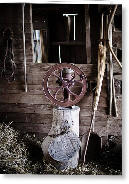 Swift Family Greeting Cards - Farmings Past Greeting Card by Swift Family