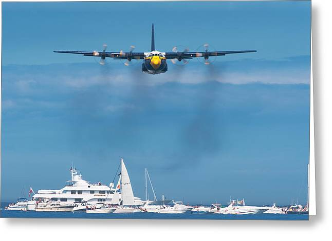 Us Navy Greeting Cards - Fat Albert Greeting Card by Sebastian Musial