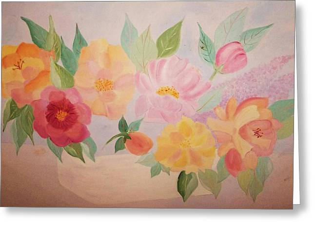Alanna Hug-mcannally Greeting Cards - Favorite Flowers Greeting Card by Alanna Hug-McAnnally