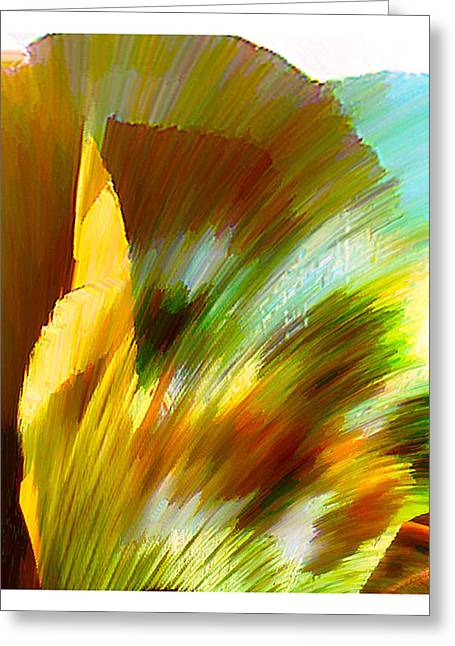 Anil Nene Greeting Cards - Feather Greeting Card by Anil Nene
