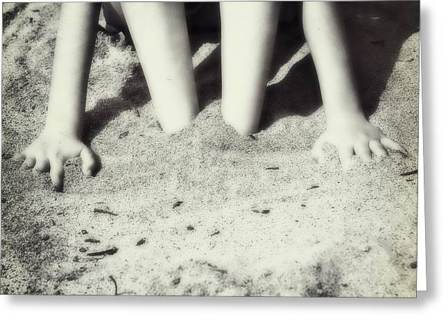Sandy Beaches Greeting Cards - Feet In The Sand Greeting Card by Joana Kruse