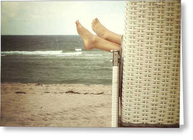 feet Greeting Card by Joana Kruse