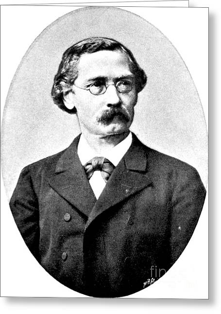 Immanuel Greeting Cards - Felix Hoppe-seyler, German Physiologist Greeting Card by Science Source