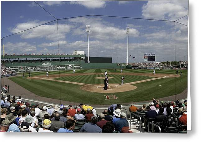 Fort Meyers Greeting Cards - Fenway South Greeting Card by Paul Plaine