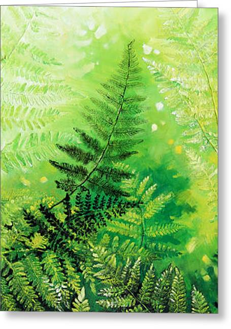 Ferns 4 Greeting Card by Hanne Lore Koehler