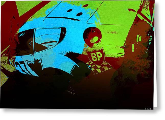Historic Racing Greeting Cards - Ferrari 250 GTB 2 Greeting Card by Naxart Studio