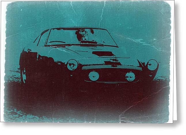 Italian Americans Greeting Cards - Ferrari 250 GTB Greeting Card by Naxart Studio