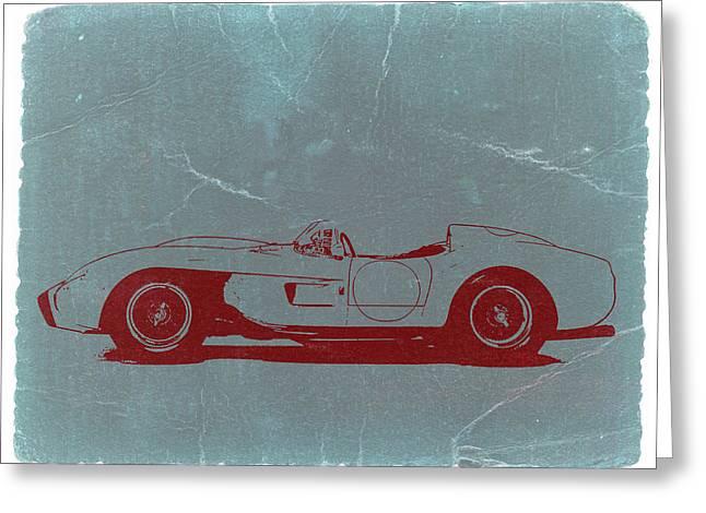 Concept Cars Greeting Cards - Ferrari Testa Rosa Greeting Card by Naxart Studio