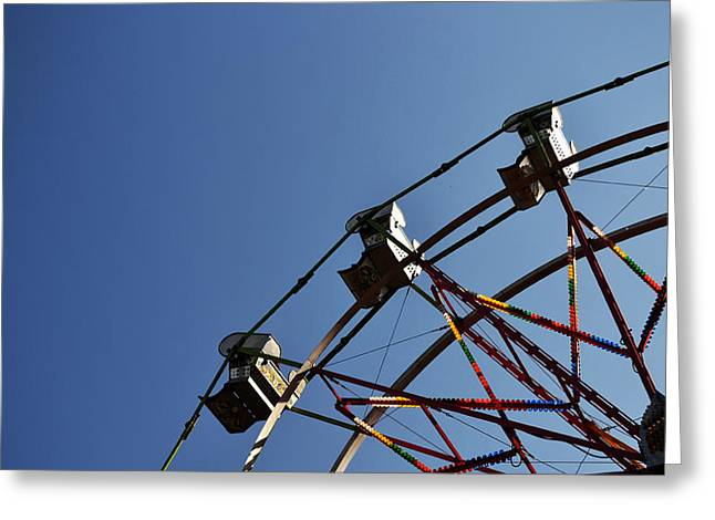 Matt Hanson Greeting Cards - Ferris Wheel Greeting Card by Matt Hanson