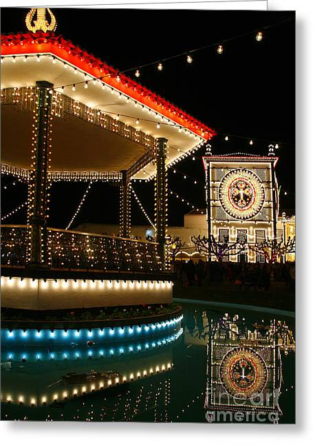 Reflecting Water Greeting Cards - Festival in Azores Greeting Card by Gaspar Avila