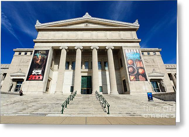 Editorial Photographs Greeting Cards - Field Museum in Chicago Greeting Card by Paul Velgos