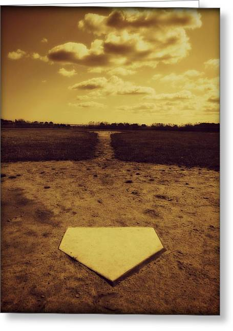 Field Of Dreams Greeting Card by Erika Hart