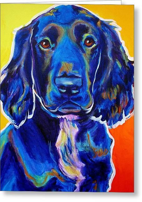 Alicia Vannoy Call Greeting Cards - Field Retriever - Otis Greeting Card by Alicia VanNoy Call