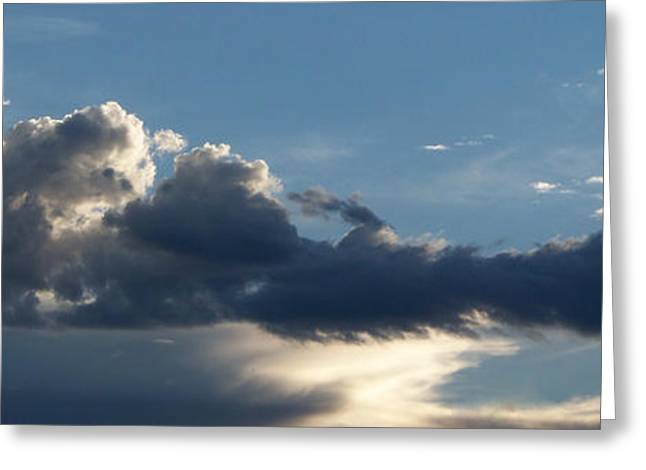 Nimbus Greeting Cards - Fierce Cloud Greeting Card by Jera Sky