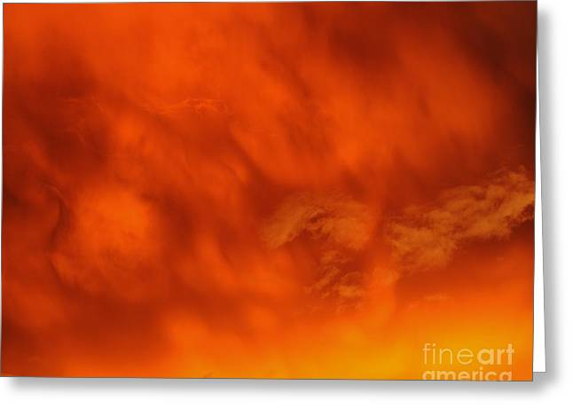Al Powell Photography Usa Greeting Cards - Fiery Clouds Greeting Card by Al Powell Photography USA