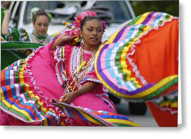 Mexican Fiesta Greeting Cards - Fiesta Greeting Card by Lori Seaman
