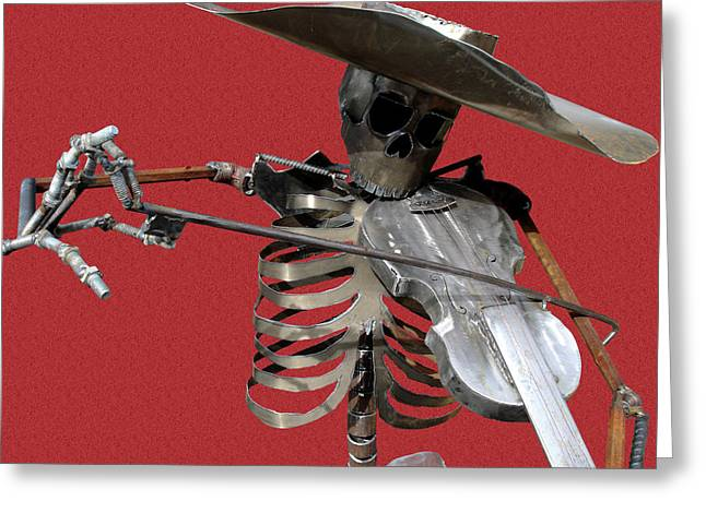 Welding Greeting Cards - Fiesta Greeting Card by Robert Trauth