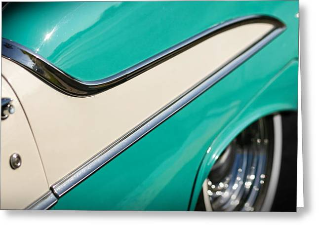 1954 Oldsmobile Super 88 Greeting Cards - Fifty Five 88 Greeting Card by Gordon Dean II