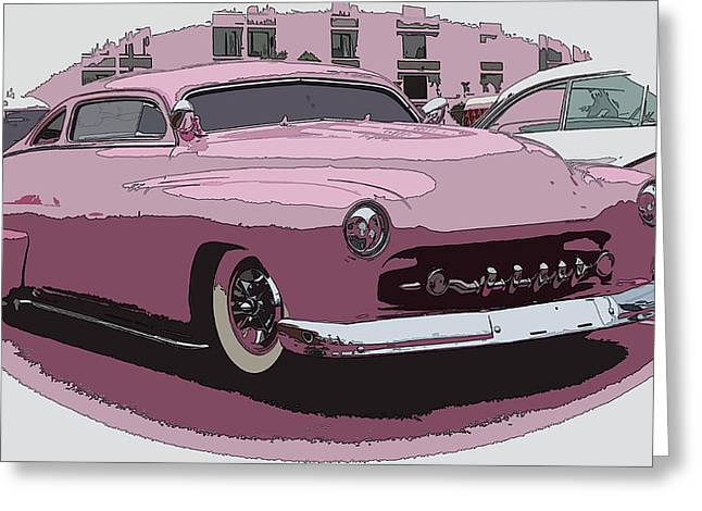 50 Merc Greeting Cards - Fiftys Merc Greeting Card by Steve McKinzie