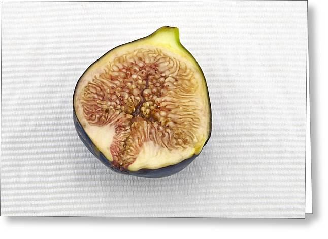 Fig Greeting Cards - Fig Greeting Card by Joana Kruse