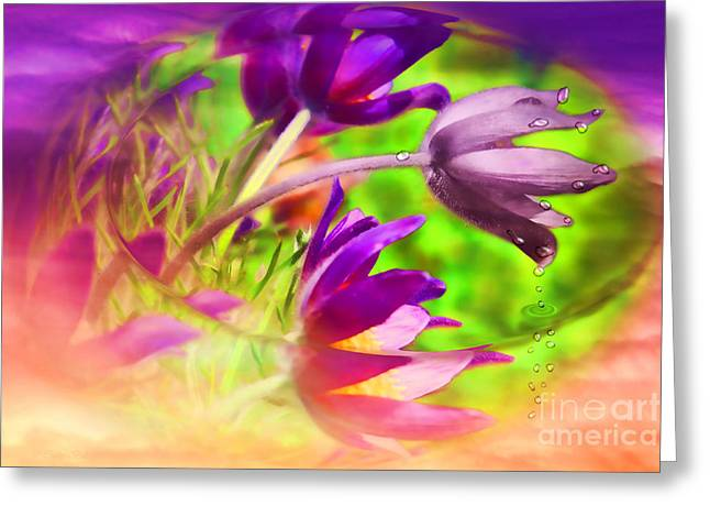 Life Change Greeting Cards - Fighting Circumstances Greeting Card by Cathy  Beharriell