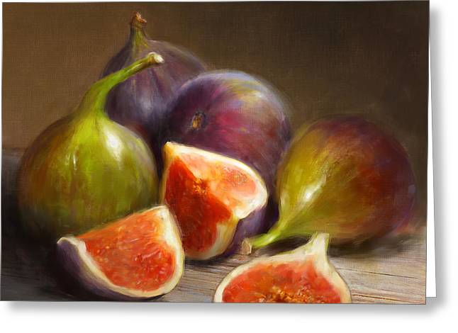 Figs Greeting Card by Robert Papp
