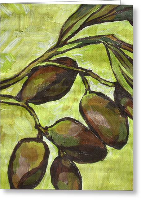 Figs Greeting Card by Sandy Tracey