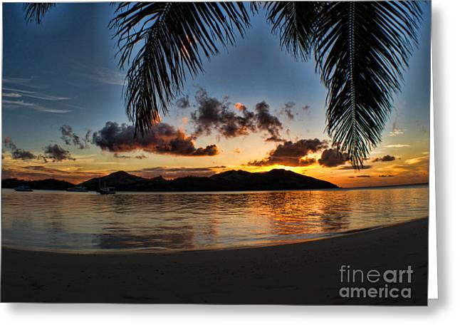 Brian Governale Greeting Cards - Fiji Island Dreams Greeting Card by Brian Governale