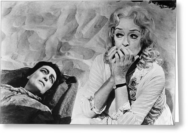 Baby Sister Greeting Cards - Film: Baby Jane, 1962 Greeting Card by Granger