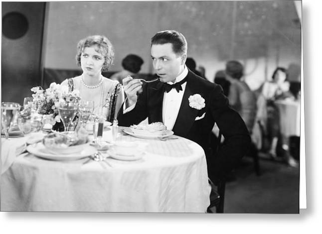 Bowtie Greeting Cards - Film Still: Ford & Powers Greeting Card by Granger