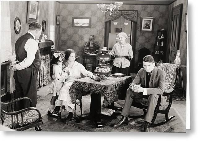 The Hills Greeting Cards - Film Still: Poorhouse Greeting Card by Granger
