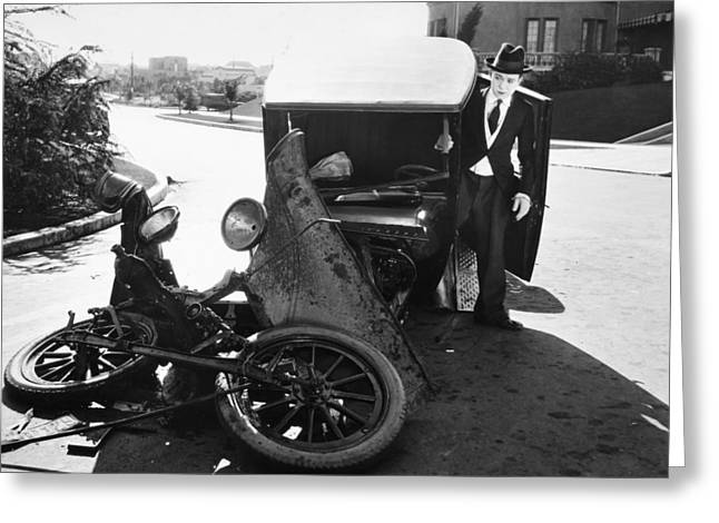 American Automobiles Greeting Cards - Film Still: Transportation Greeting Card by Granger