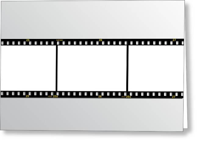 film strip Greeting Card by Hans Engbers