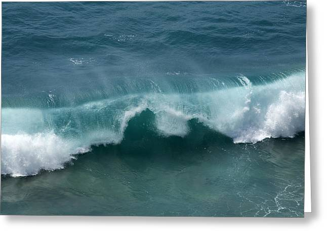 Big Sur Ca Greeting Cards - Final Collapse of a Wave Greeting Card by Gregory Scott
