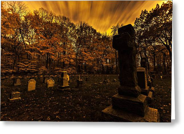 October 17 Greeting Cards - Final Destination Greeting Card by CJ Schmit