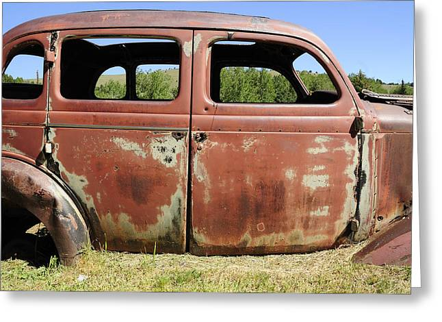 Rust Greeting Cards - Final Destination Greeting Card by Fran Riley