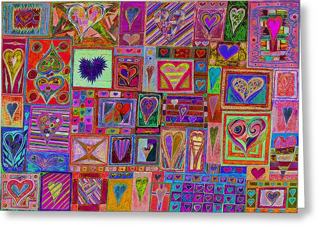 Substantial Greeting Cards - Find Ur love found v11 Greeting Card by Kenneth James