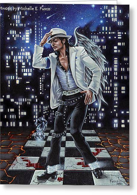 Smooth Criminal Greeting Cards - Finding Forever Greeting Card by Michele Fusco