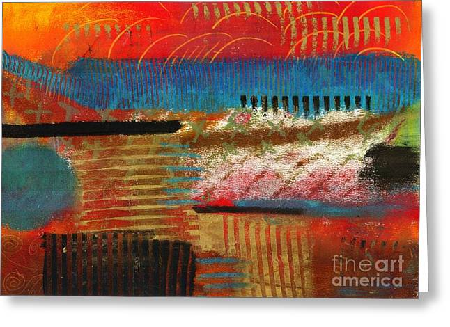 Self Discovery Paintings Greeting Cards - Finding MY Way Greeting Card by Angela L Walker