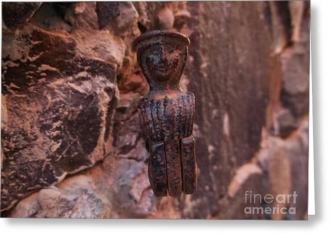 Creolization Greeting Cards - Findings on Goree Island Greeting Card by Eugene Simon