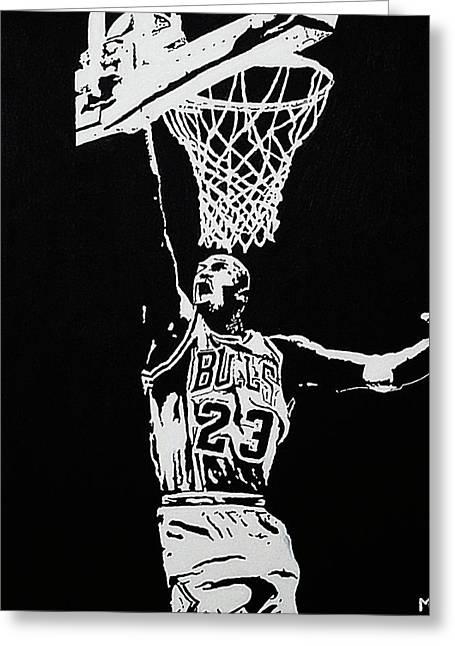 Mj Greeting Cards - Finisher Greeting Card by Matthew Formeller
