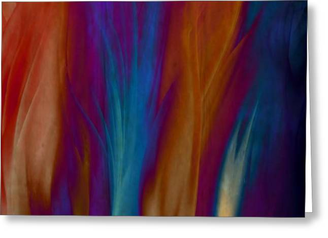 Gina Lee Manley Greeting Cards - Fire Dance Greeting Card by Gina Lee Manley