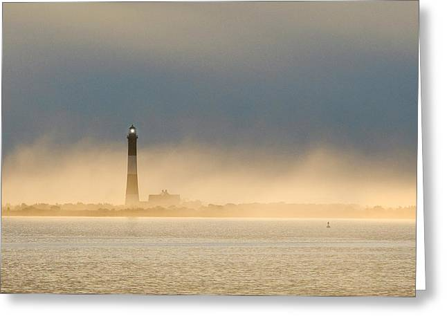 Empty House Greeting Cards - Fire Island Light Greeting Card by Bryan Allen