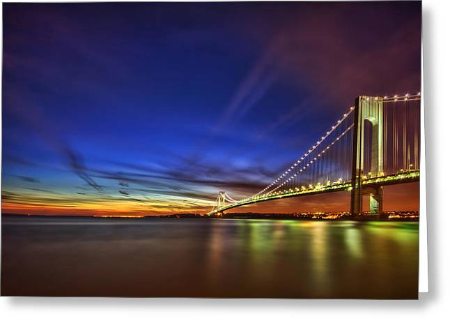 Staten Island Greeting Cards - Fire My Desire Greeting Card by Evelina Kremsdorf