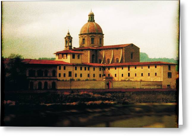 Firenze A Piedi Greeting Card by Li   van Saathoff