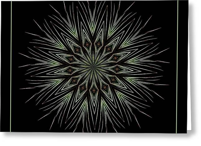 Bottle Rockets Greeting Cards - Fireworks Kaleidoscope 4 Greeting Card by Rose Santuci-Sofranko